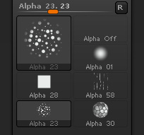 Selected Alpha