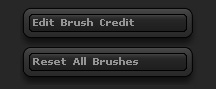 Brush palette - bottom buttons