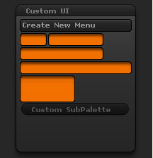 Preferences > Custom UI sub-palette
