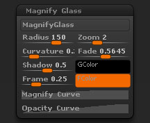 Preferences > Magnify Glass sub-palette