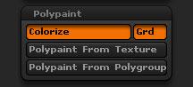 Tool > Polypaint sub-palette