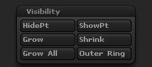 Tool > Visibility sub-palette