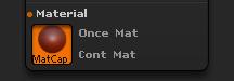 Picker > Material sub-palette