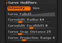 Stroke > Curve Modifiers sub-section