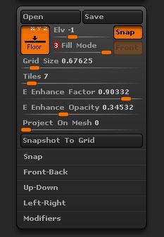 Floor Grid | ZBrush Docs