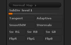 Normal Map options