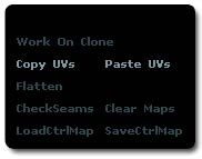 The Copy and Past UVs, located in the utility section of the plugin.