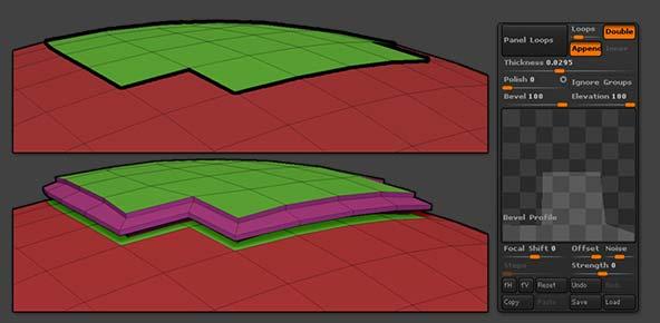 Appending Panel Loops
