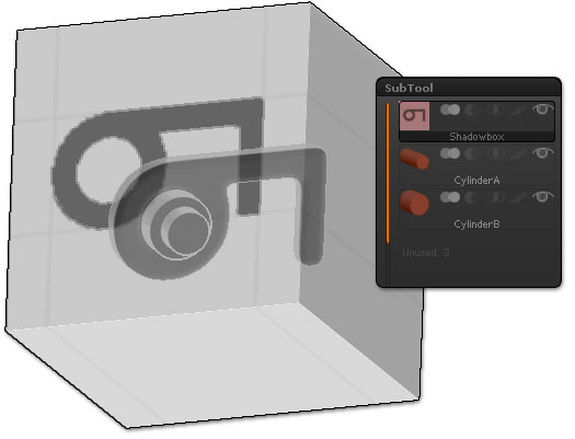 ShadowBox with subtools