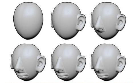 DynaMesh  head
