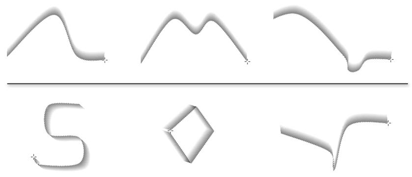 Valid/Invalid Clip Curves