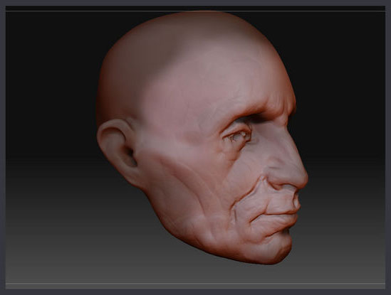 Painting a Head | ZBrush Docs