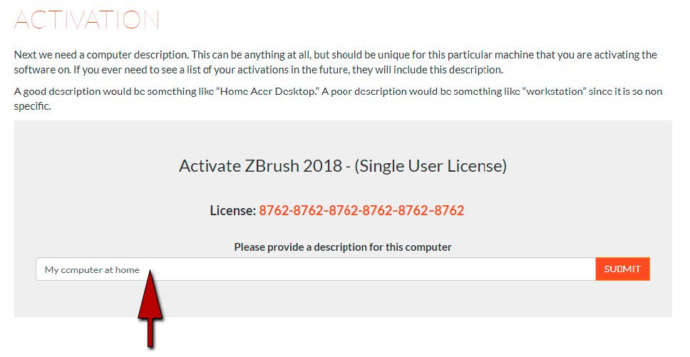 Activation | ZBrush Docs