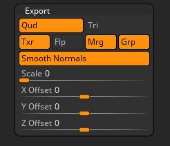 Export | ZBrush Docs