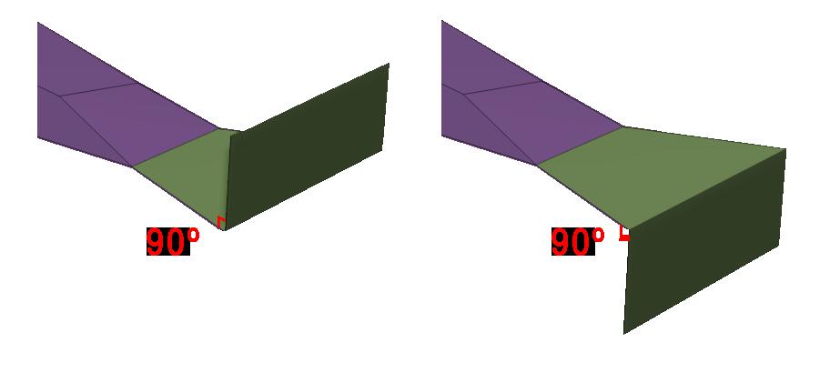 Extrude perpendicular