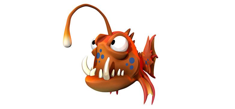 ZBrush Core fish