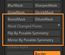 Masking additions